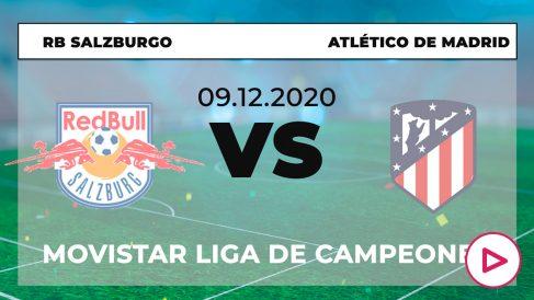 Salzburgo – Atlético de Madrid: jornada 6 de la Champions League.