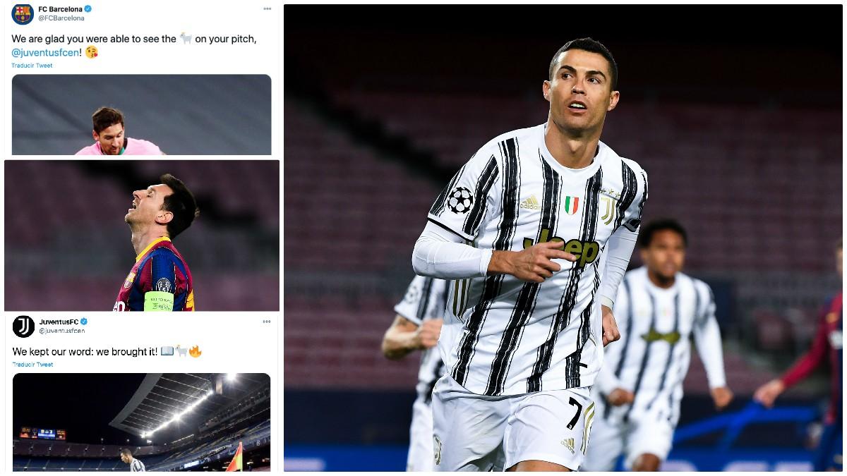 La venganza de la cuenta de Twitter de la Juventus. (Getty)