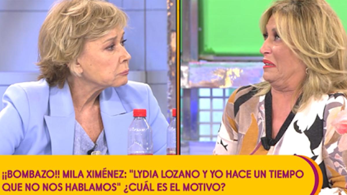 Mila Ximénez y Lydia Lozano