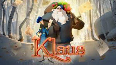 dibujos de Navidad de Netflix y DisneY +-Klaus