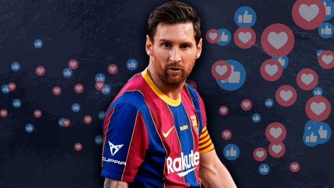 El Barcelona no para de pelotear a Messi