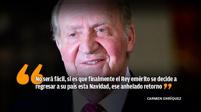 Se allana el camino para el regreso del Rey emérito a España