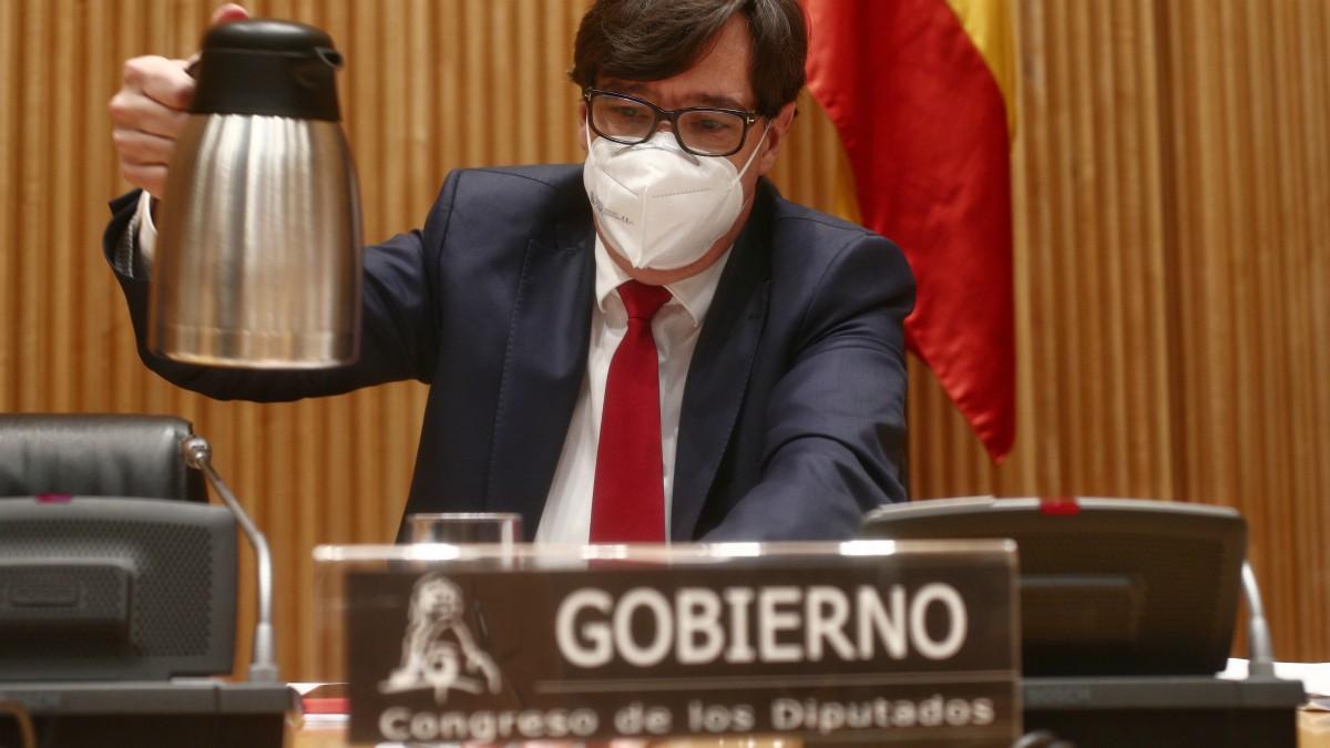 El ministro de Sanidad, Salvador Illa, en una imagen de archivo.