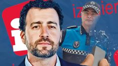 El alcalde de Rivas, Pedro del Cura, y el Jefe de la Policía Local, Leonardo Lafuente