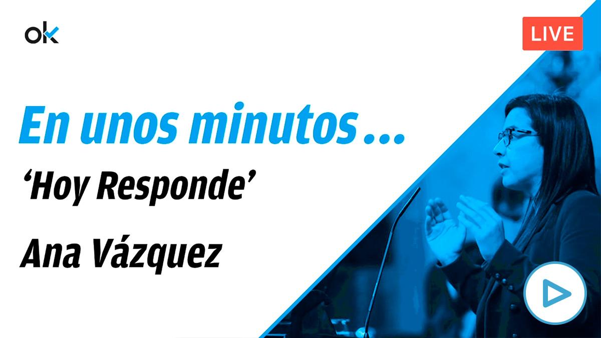 Vea aquí el programa completo de 'Hoy Responde' con la diputada del PP Ana Vázquez, portavoz de Interior.