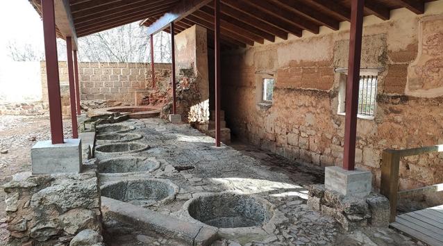 Restauran un lavadero de lana del S. XVII de un pequeño pueblo de Teruel