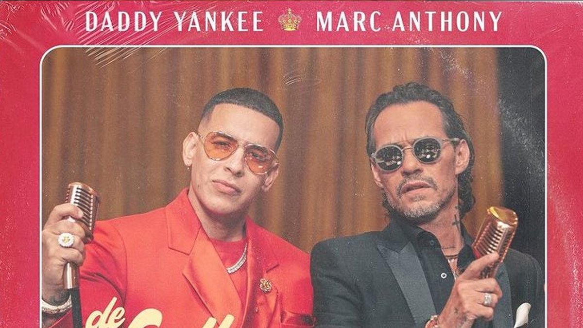 Daddy Yankee y Marc Anthony