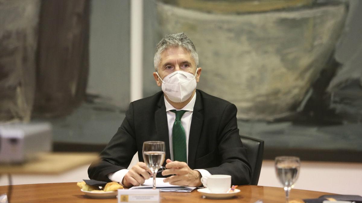 El ministro del Interior, Fernando Grande-Marlaska. (Foto: Europa Press).
