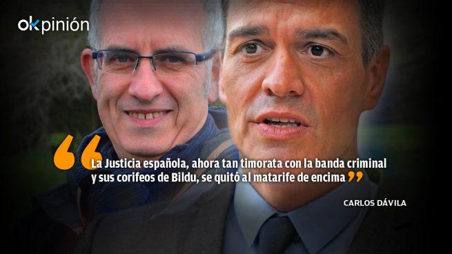 Asesinos y atracadores socios de Sánchez