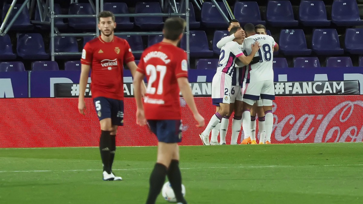 El Valladolid venció a Osasuna en Pucela. (EFE)