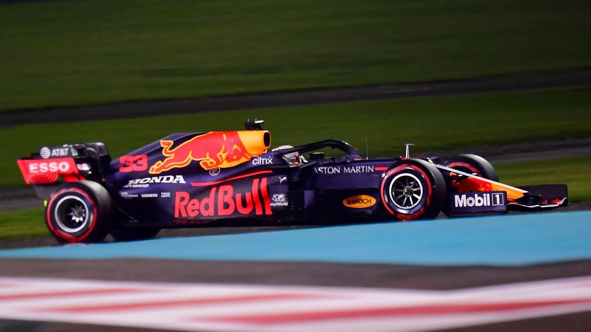 Max Verstappen en la sesión de clasificación del Gran Premio de Abu Dabi. (AFP)