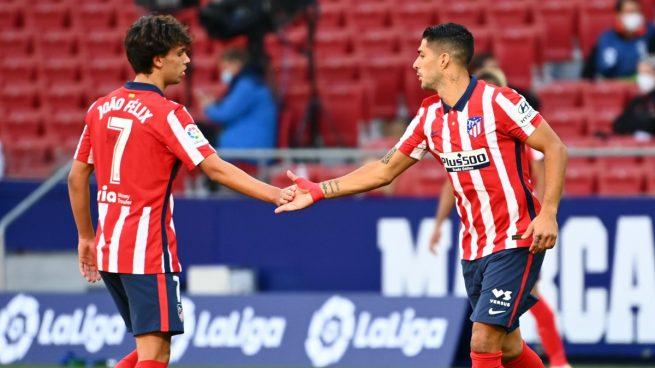 Alineación oficial del Atlético de Madrid