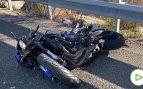 Muere un joven de 25 años en un accidente de moto en Getafe