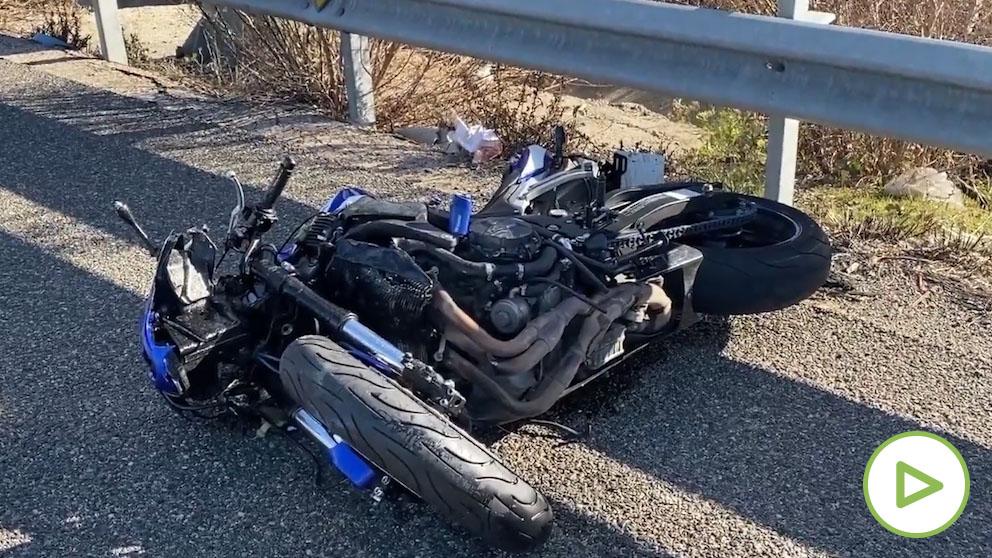 Muere un joven de 25 en un accidente de moto en Getafe.