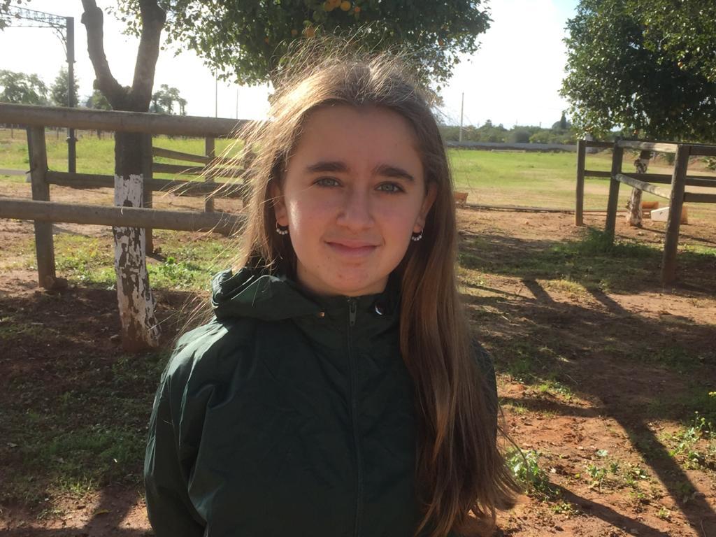 Patricia Martínez, alumna del colegio internacional de Sevilla San Francisco de Paula y campeona mundial de cálculo mental.