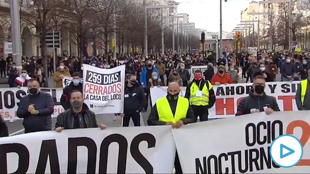 3.000 personas piden ayudas directas a la hostelería en Zaragoza.
