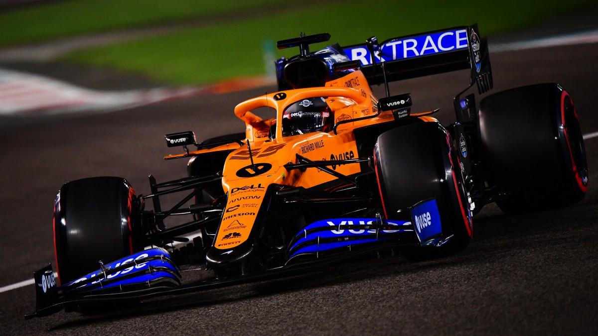 Carlos Sainz durante el GP de Abu Dhabi de F1. (Getty)
