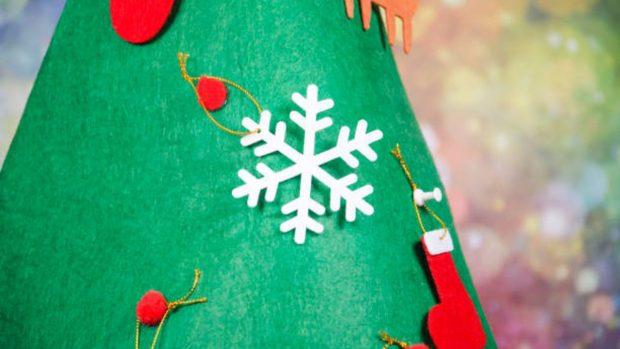 Cómo hacer un árbol de Navidad para los niños según el método Montessori