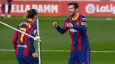 Leo Messi y Griezmann.