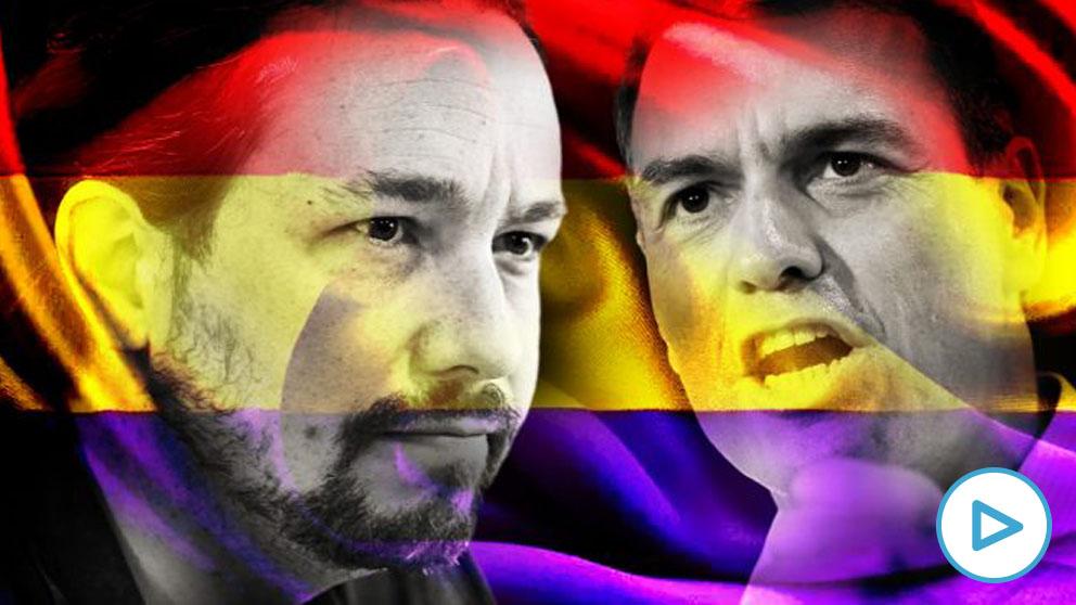 Pablo Iglesias y Pedro Sánchez.
