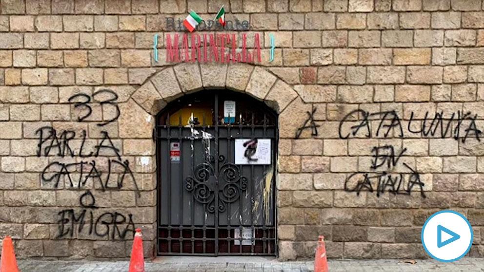 Acosan a una pizzera en Barcelona