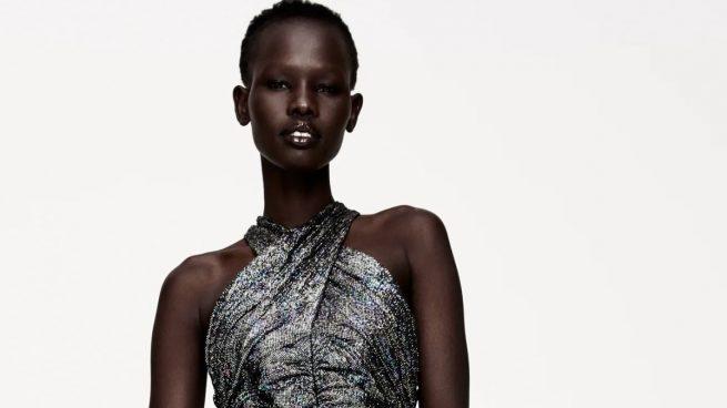 10 vestidos de Zara para celebrar Nochebuena y Nochevieja 2020