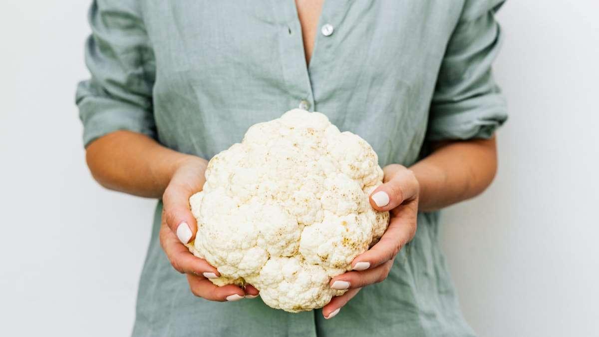 La coliflor es uno de los alimentos más beneficiosos