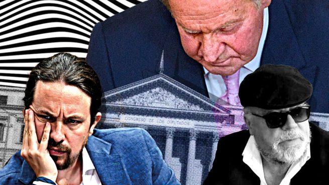La estrategia de Podemos: utilizar a Villarejo en la 'comisión Kitchen' contra Juan Carlos I y la Corona