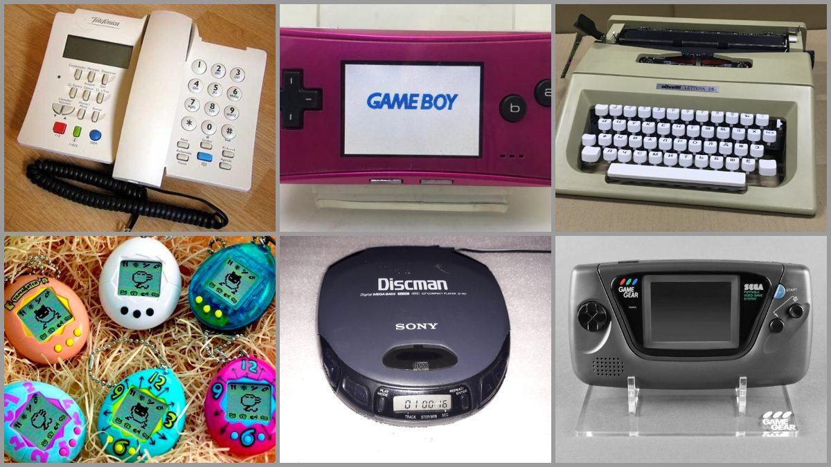 Tecnología de los años 90