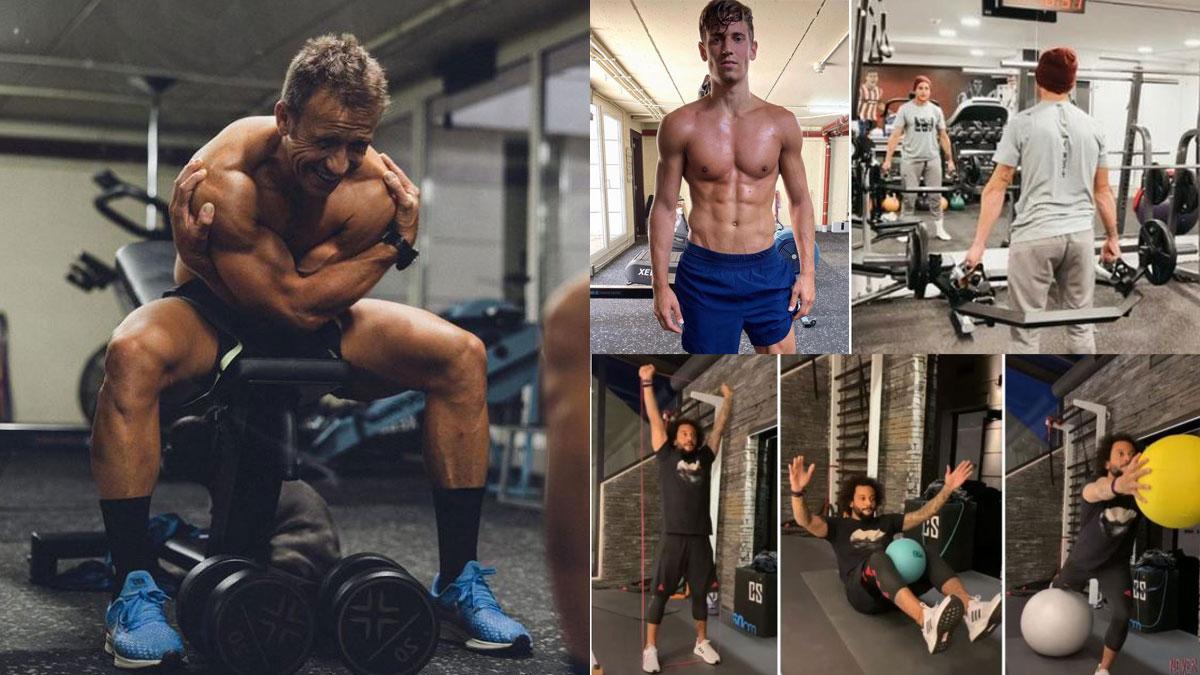Llorente, Marcelo e Ibai Gómez son algunos de los futbolistas a los que prepara Adolfo Madrid (Instagram)