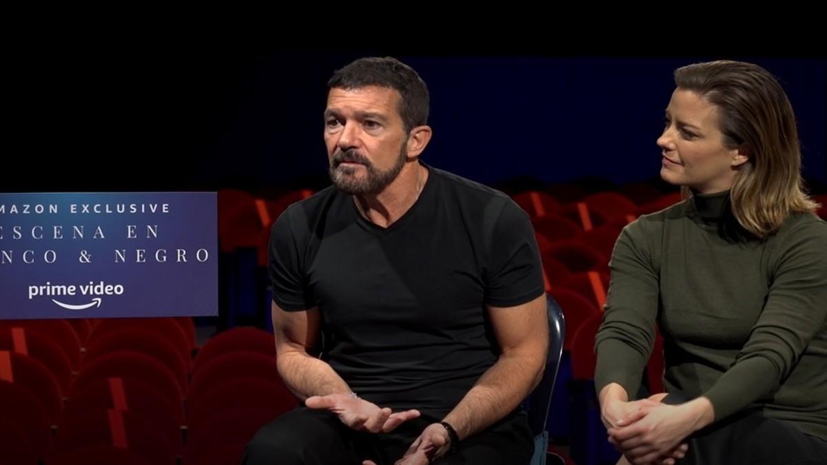 Antonio Banderas y María Casado presentan 'Entrevistas en Blanco & Negro', el programa creado para Amazon Prime Video.