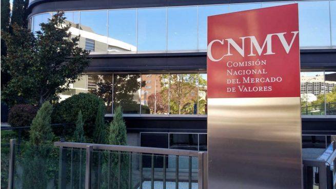 Fachada de la CNMV en Madrid