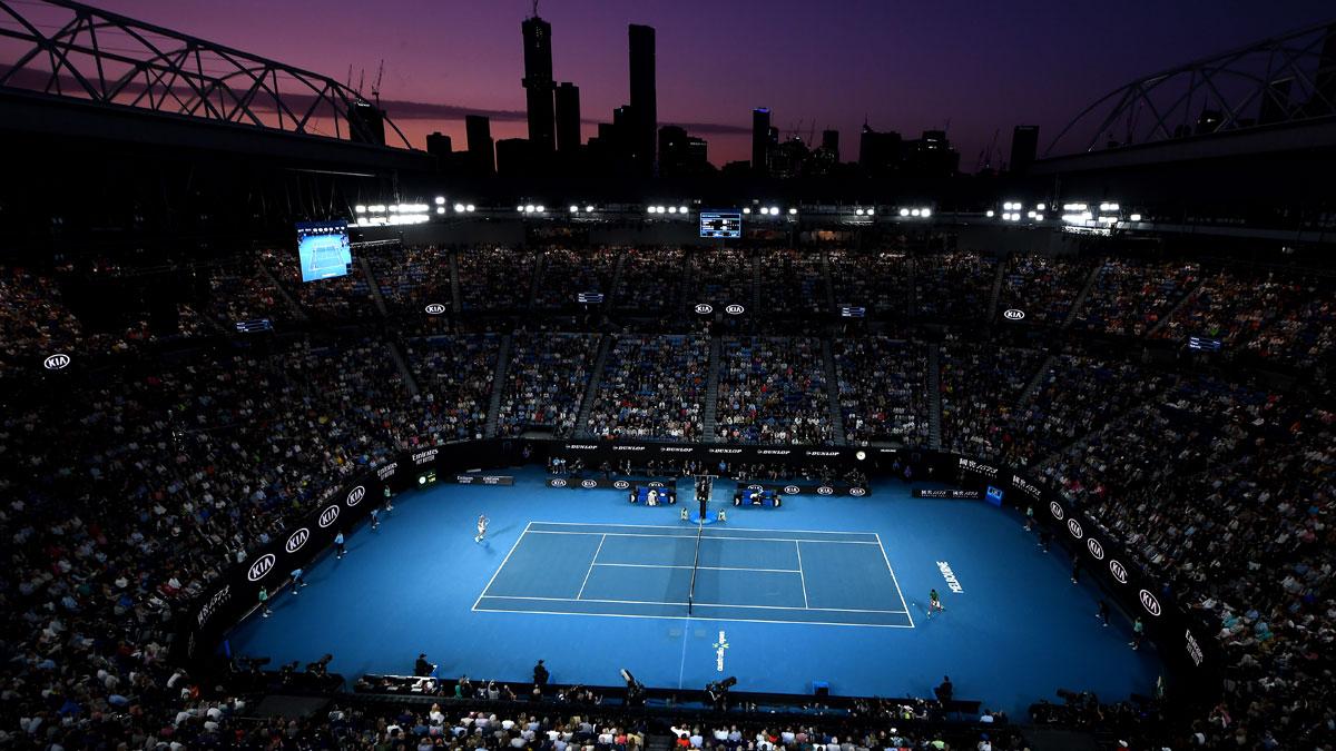 Final del Open de Australia 2020 (Getty)