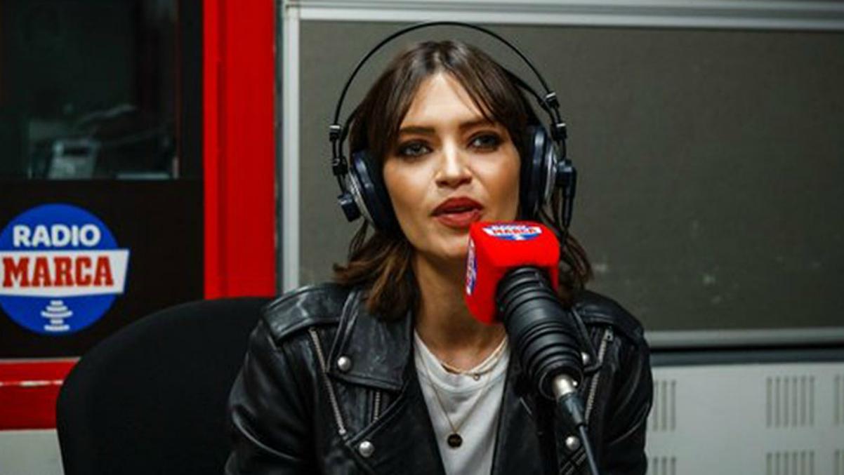 Sara Carbonero en 'Radio Marca'.