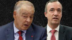 El ex DAO Eugenio Pino y el ex secretario de Estado de Seguridad Francisco Martínez