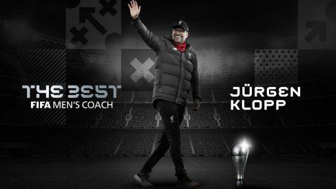 Jurgen Klopp, premio 'The Best' al mejor entrenador del año. (fifa.com)