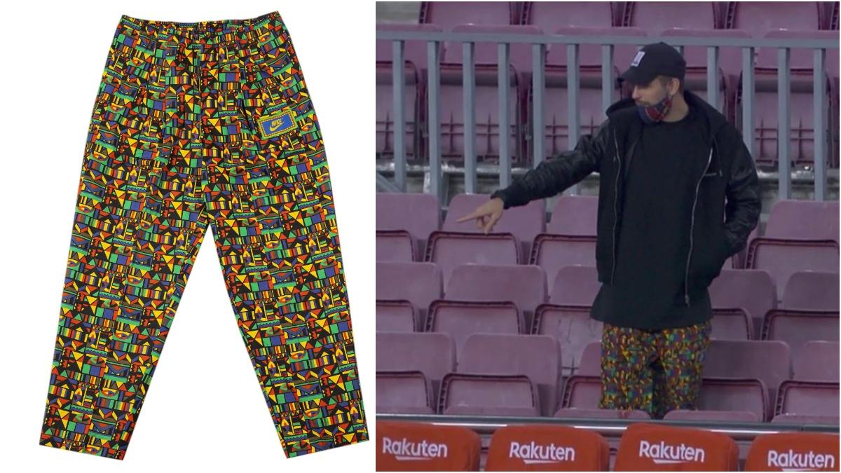 Los pantalones de Piqué.