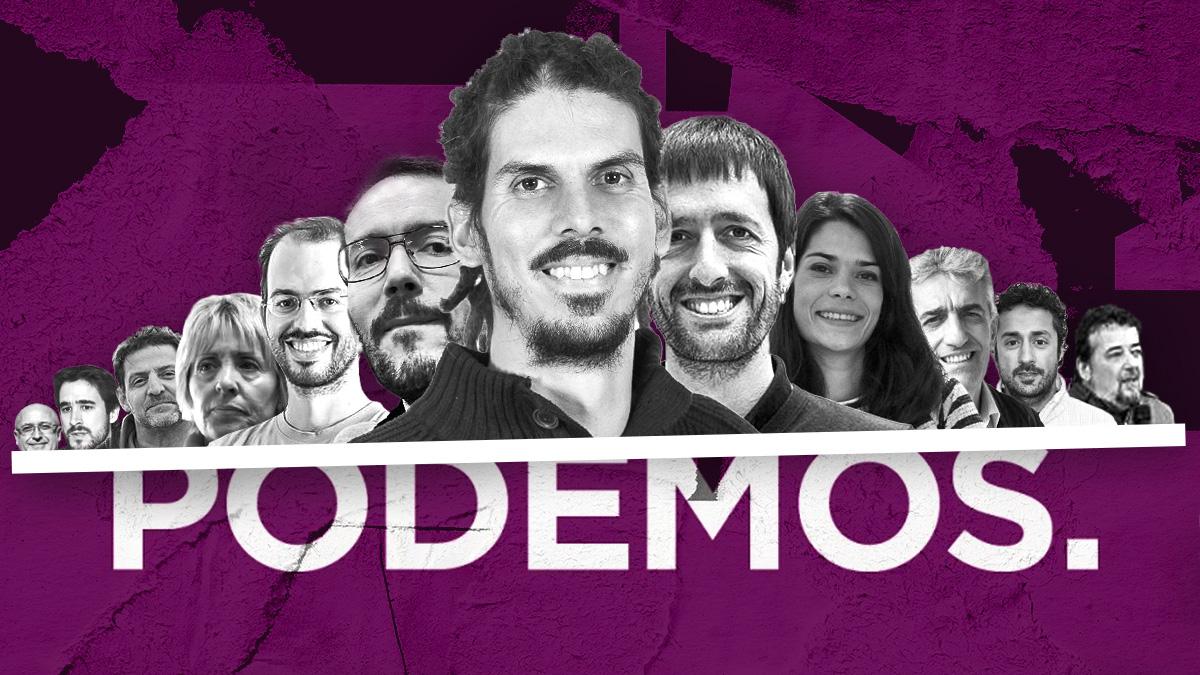 Todos los dirigentes de Podemos condenados o procesados.