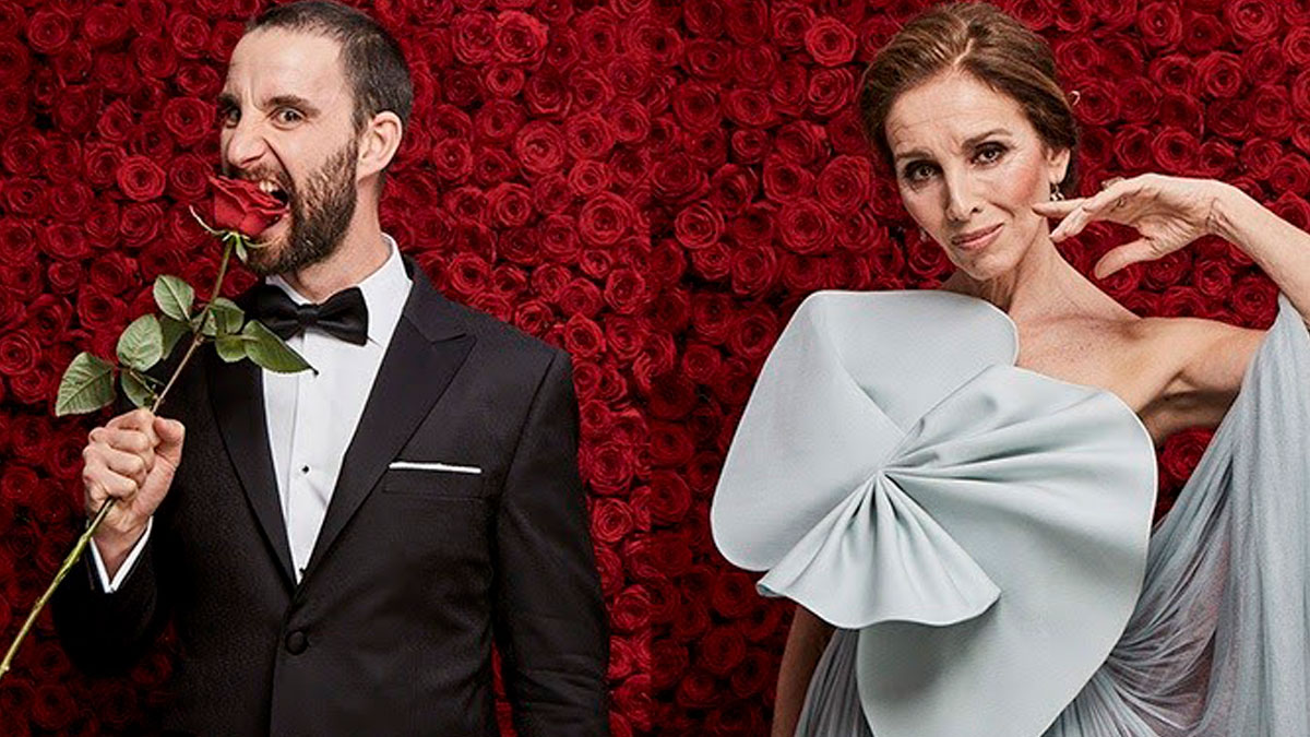 Dani Rovira y la cantante Ana Belén