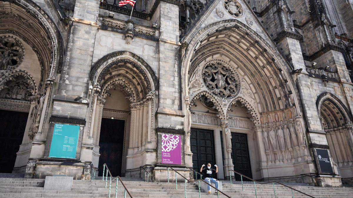 Catedral de San Juan el Divino en Nueva York.
