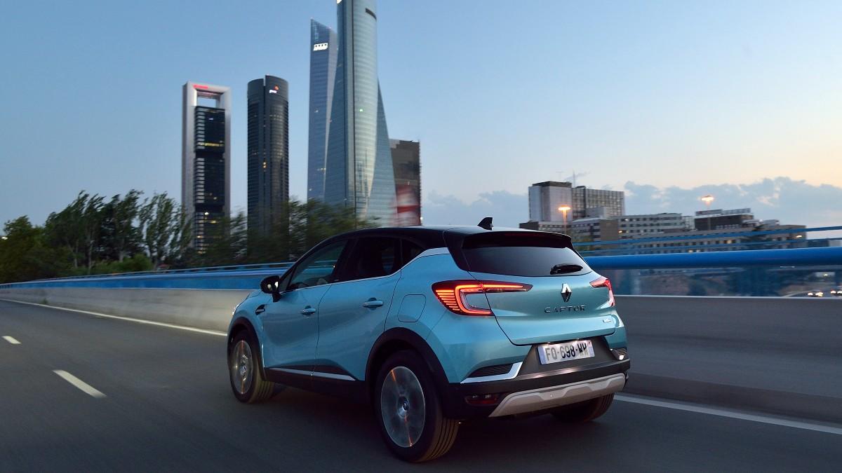 Nuevo Renault Captur E-Tech.