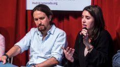 Pablo Iglesias junto a su pareja Irene Montero. (Foto: Podemos)