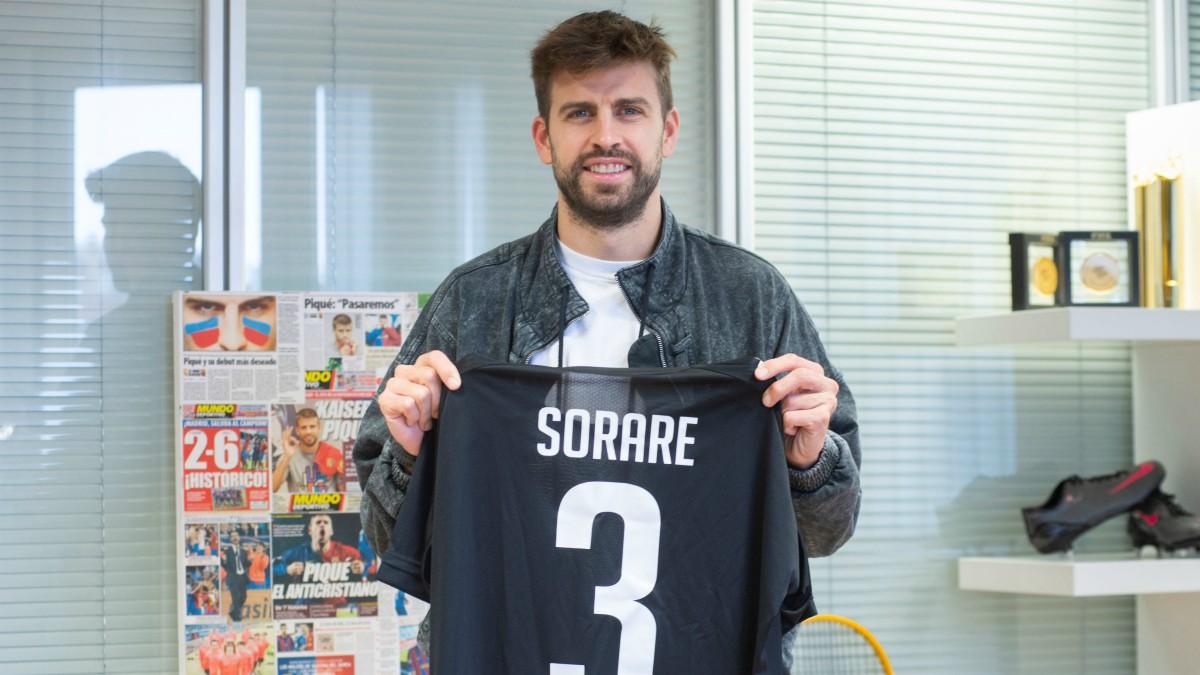Piqué invierte 3 millones en la empresa Sorare.