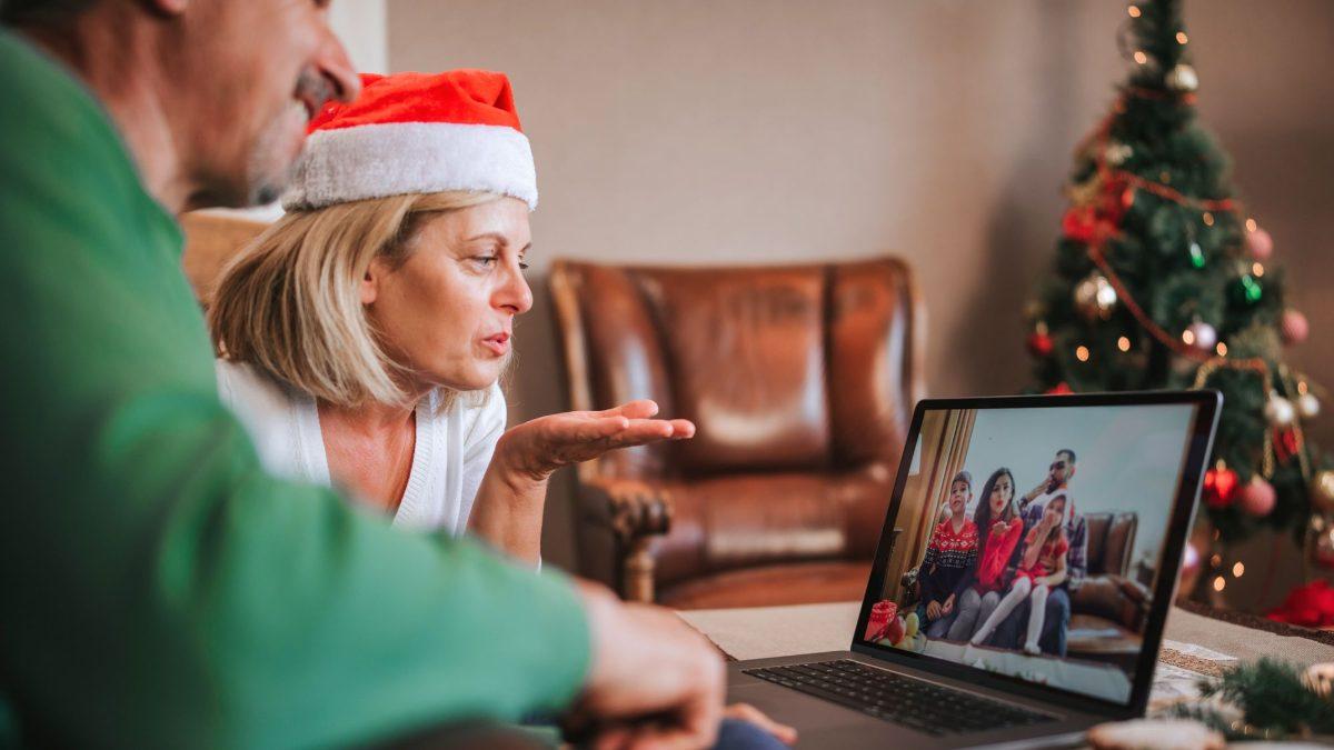 Una Navidad por videollamada