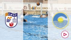 Boadilla y Sant Feliu se enfrentan en la liga de waterpolo femenina. (CDNB)