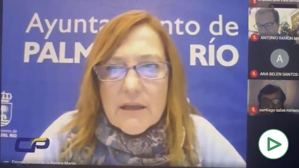 Esperanza Caro de la Barrera, alcaldesa socialista de Palma Del Río (Córdoba).
