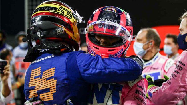 Carlos Sainz y Sergio Pérez