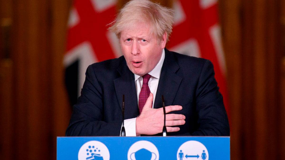El primer ministro británico, Boris Johnson. Foto: AFP