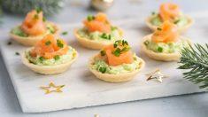 5 recetas de canapés para la cena de Nochebuena