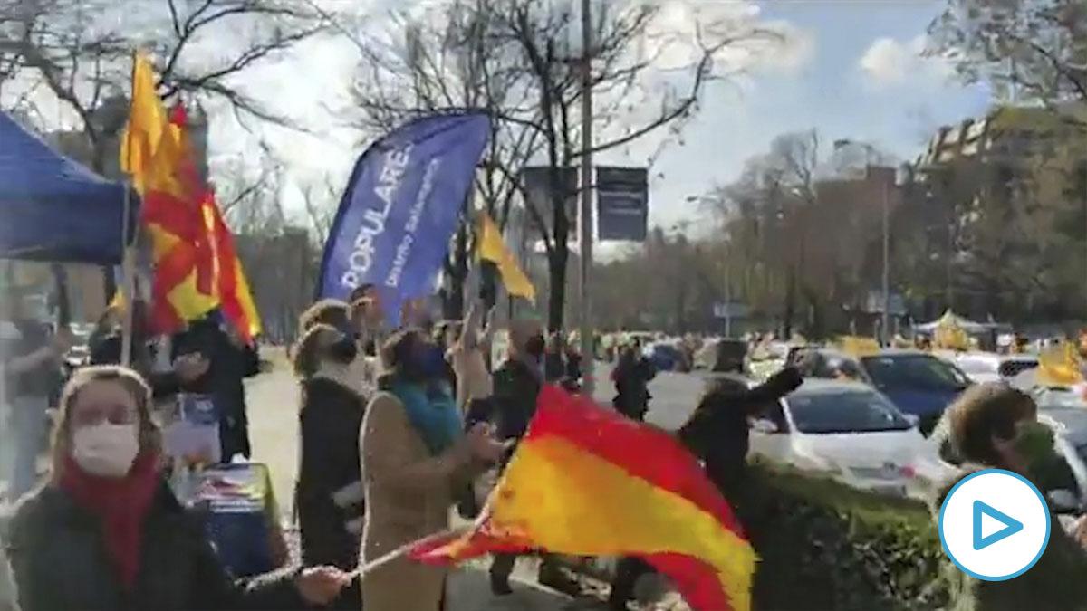 Manifestación de Más Plurales en Madrid contra la Ley Celaá